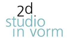 2d studio in vorm